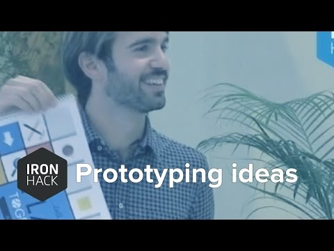 How to prototype your startup idea w/ Blai Carandell of Protoplay (Plus 2 startup pitches) Ironhack