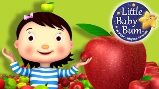 Learn with Little Baby Bum | Apple Song | Nursery Rhymes for Babies | Songs for Kids