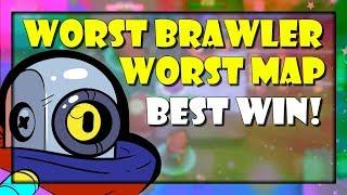 BRAWL STARS : EPIC SMASH AND GRAB GAMEPLAY WITH MY WORST BRAWLER! (BONE BOX)