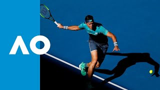 Milos Raonic v Pierre-Hugues Herbert third set tiebreak (3R) | Australian Open 2019