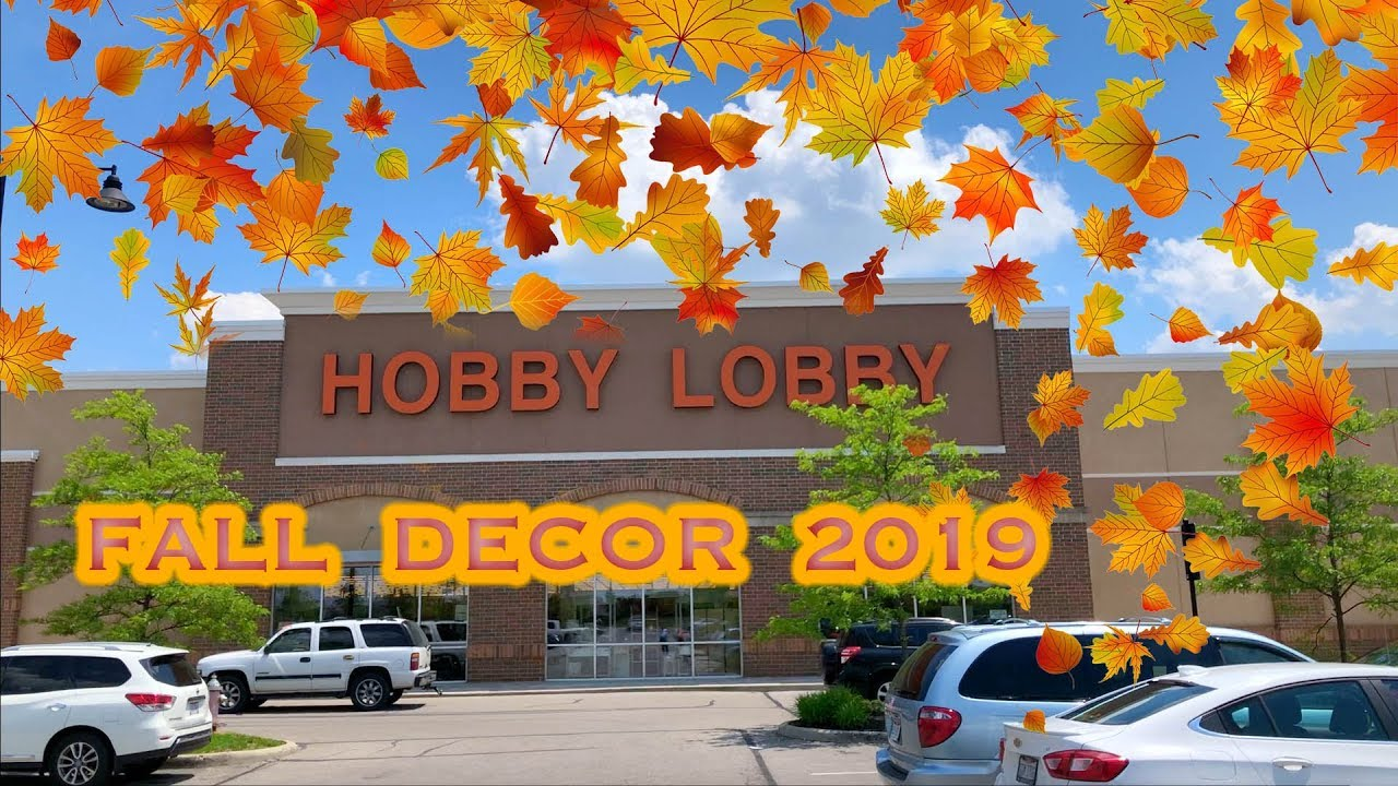 Hobby Lobby Halloween Decorations 2019.Hobby Lobby Fall Decorations 2019 4k Video