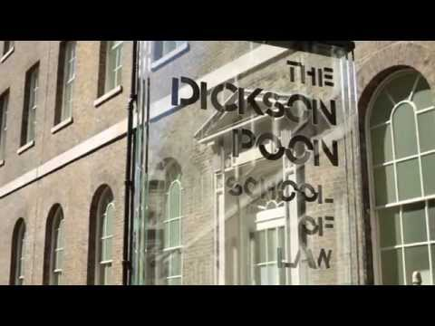 The Dickson Poon School of Law:  The Student Experience