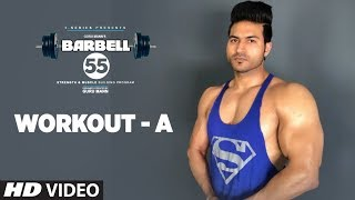 Workout A - Chest/Back/Forearms - BARBELL 55  || STRENGTH & MUSCLE BUILDING PROGRAM