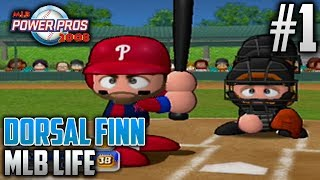 MLB Power Pros 2008 MLB Life Mode | Dorsal Finn (Third Baseman) | EP1 | LET SPRING TRAINING BEGIN!