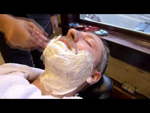 Full Shave Tutorial by Farzad at Farzad's Barber Shop