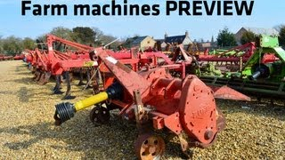 Farm machines preview
