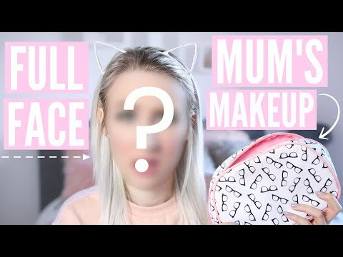 Full Face Using Only MY MUM'S MAKEUP | Sophie Louise