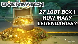 Saved 27 loot boxes for this video. How many legendaries I got? Fin...