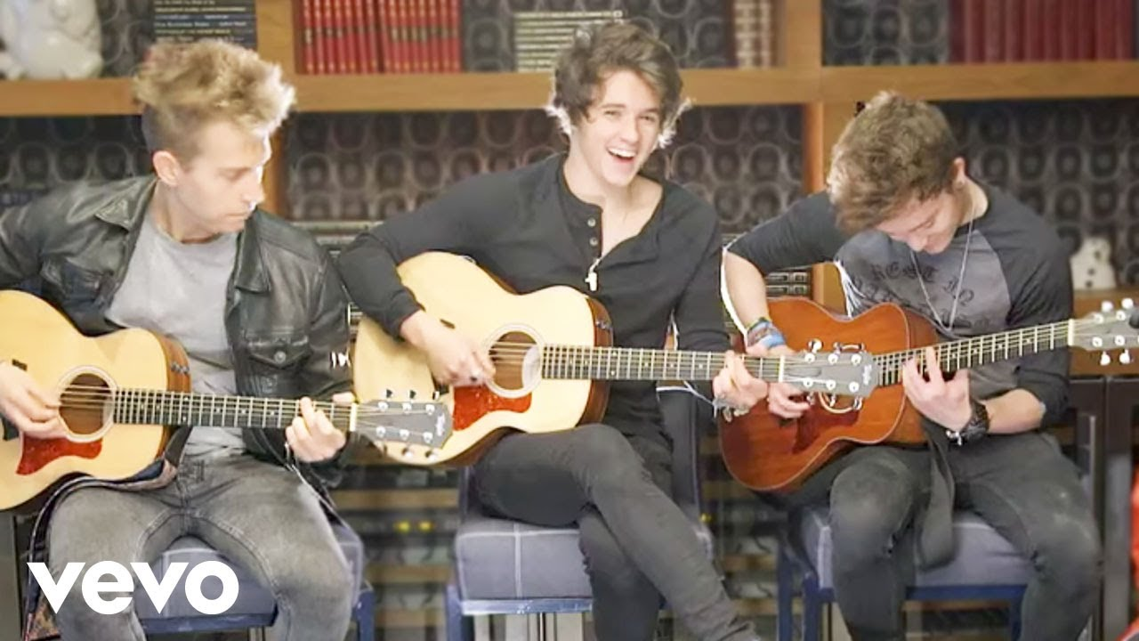 The Vamps - On The Floor / High Hopes Acoustic Medley (VEVO LIFT)