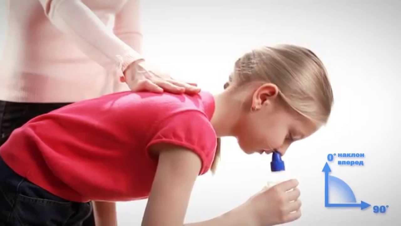 Как правильно промывать нос ребенку рекомендации
