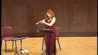 Syrinx by C. Debussy performed by Eugenia Moliner