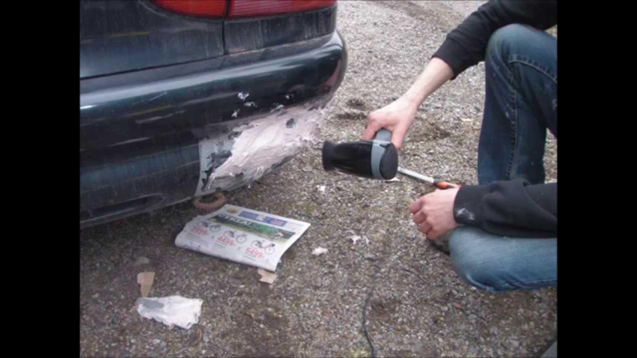 Repair Cracked Car Fiberglass