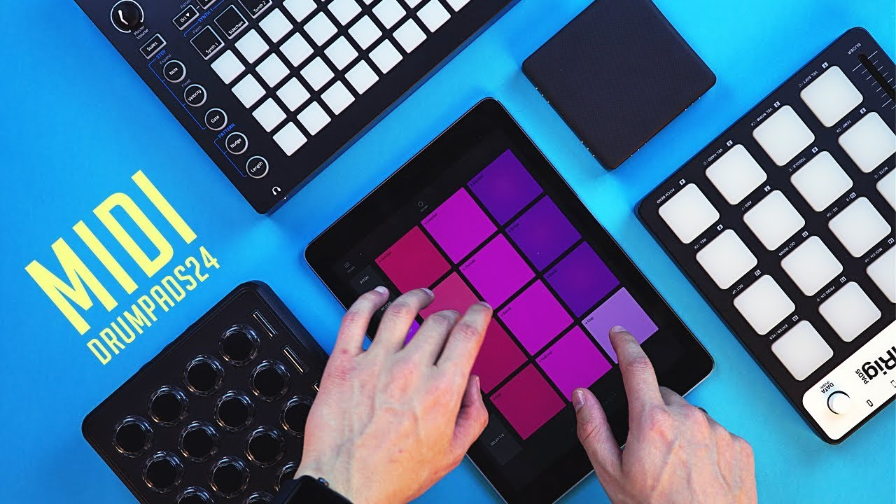 Use Any Controller With Drum Pads 24 - Midi Fighter / Lightpad Block /  Novation Circuit / iRig Pads