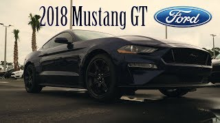 2018 Ford Mustang GT Walkaround + Start Up & Exhaust Modes