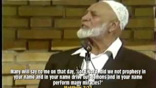 Ahmed Deedat Answer - What is Jesus going to come back and do?