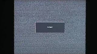 CMGUS PRODUCTIONS: 1 MINUTE TV SCREEN STATIC SNOW WHITE NOISE FLICKER DOTS VCR NO SIGNAL VIDEO 2020