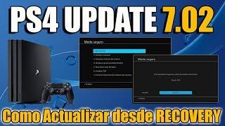 PS4 Update 7.02 - Cómo Actualizar desde MODO SEGURO Por si tienes error