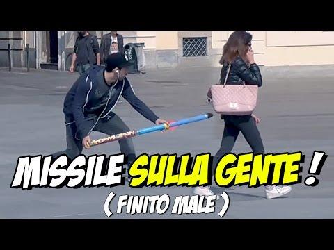 MISSILE SULLA GENTE - ( Finito MALE con la RAI )