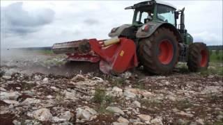 SEPPI M. - MAXISOIL - soil tiller / fresa del suolo / Rodungsfräse