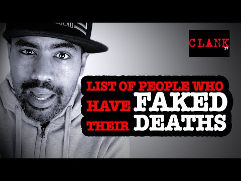 List of People Caught Faking Their Deaths -  People Fake their Deaths all the Time