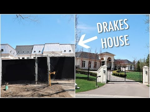 I SAW DRAKE'S HOUSE + MY DREAM HOUSE!