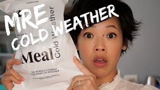 MRE Cold Weather - tasting a US MCW