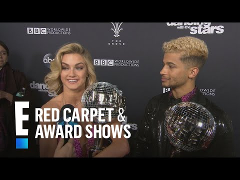 """Jordan Fisher & Lindsay Arnold React to Winning """"DWTS"""" 