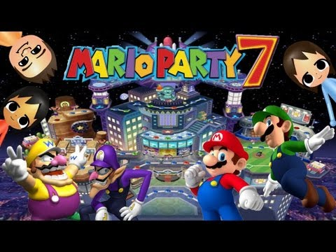 ABM: Mario Party 7 Neon Heights Gameplay HD