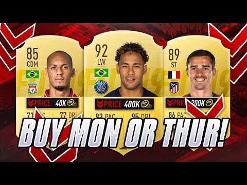 BUY THIS MONDAY OR THURSDAY? CRASH BEFORE THE CRASH! FIFA 19
