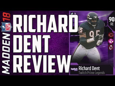 HOW GOOD IS FREE TWITCH PRIME RICHARD DENT? MUT 18 CARD REVIEW