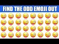HOW GOOD ARE YOUR EYES #49 l Find The Odd Emoji Out l Emoji Puzzle Quiz