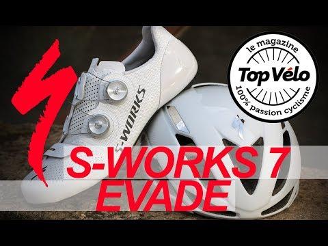 Image de la vidéo Chaussures de vélo Specialized S-Works 7 - Casque Specialized Evade 2018