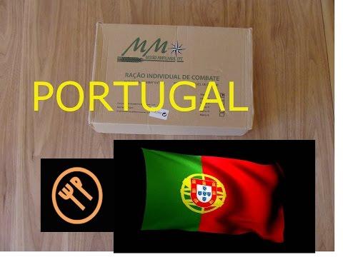 RARE: Portuguese Forças Armadas - 24h ration menu 1 (BB 2016)