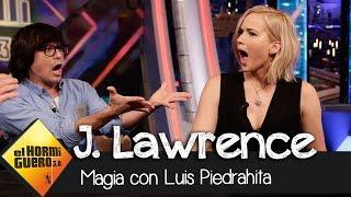 Jennifer Lawrence hace magia con Luis Piedrahita - El Hormiguero 3.0