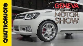 Suzuki si ridisegna con la Im-4 Concept | Salone di Ginevra 2015