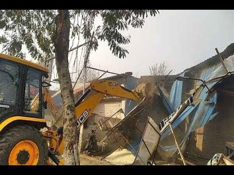 Faridabad Sector 12, Sealing and Demolition Operation