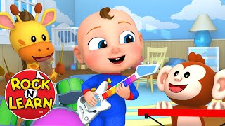 Learn Colors in Spanish for Kids | Spanish Color Names Baby and Preschool Video | Rock 'N Learn