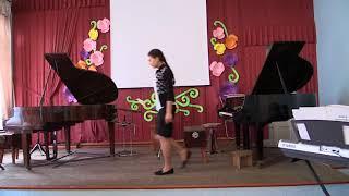 Открытый урок Бизюковой Л.Э.(фортепиано)8 часть