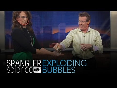 Exploding Bubbles - Cool Science Experiment