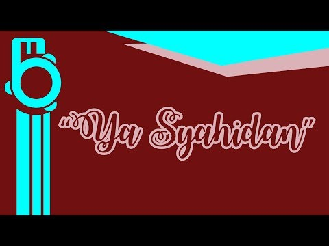 Ya Syahidan (Karaoke - Lirik) - Instrument Banjari Cover