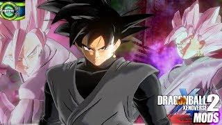 Neue Benutzerdefinierte Animation Goku Black Goes SSJ Rosé | DB Xenoverse 2 Mods zu Präsentieren
