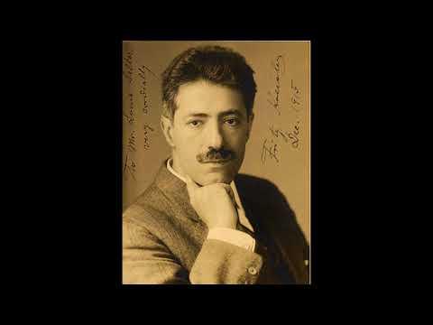 NEW TO YOUTUBE | Violinist Fritz Kreisler – Brahms Violin Concerto [1927 ARCHIVAL]
