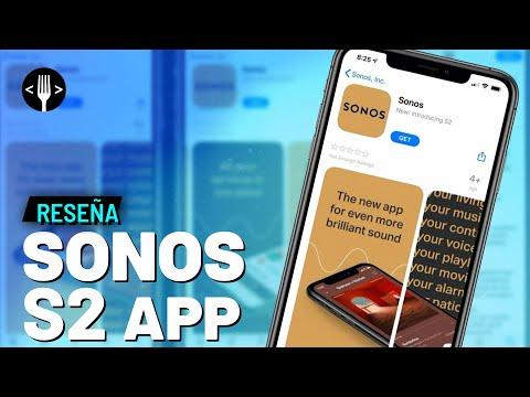 Reseña: Sonos S2 App