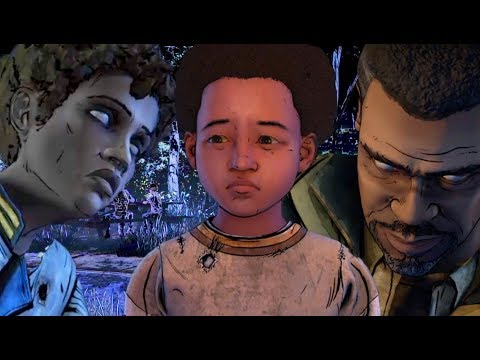 Clem Tells The Sad Story of AJ's Parents - The Walking Dead The Final Season
