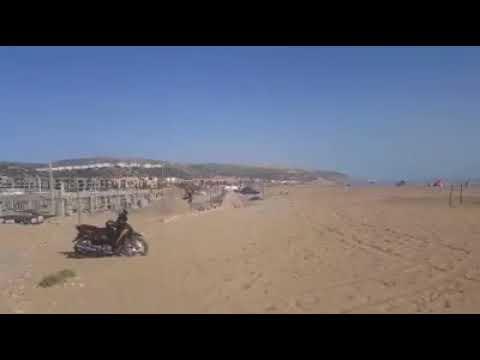 La plage (aghroud 2) 28 km agadir Construction commerce et restaurant sur les belles plage d'agadir