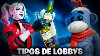 TIPOS DE LOBBIES EN FORTNITE
