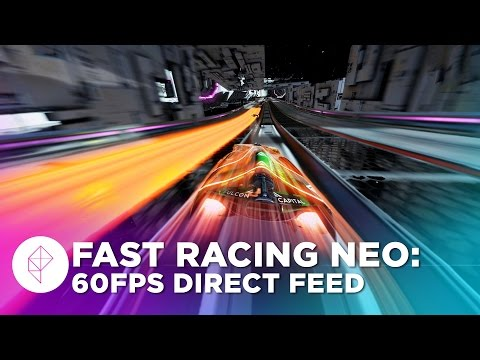 Direct-feed gameplay from Fast Racing Neo, the Wii U's blisteringly fast F-Zero successor