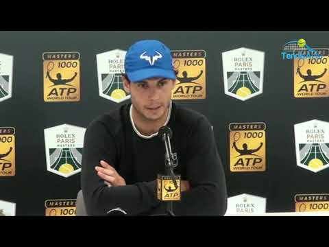 Rafael Nadal has pulled out of the Paris Masters 2017 (Press conference)