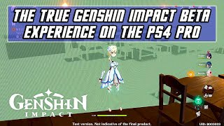 The True Genshin Impact Beta Experience on PS4 PRO