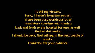 To My Viewers